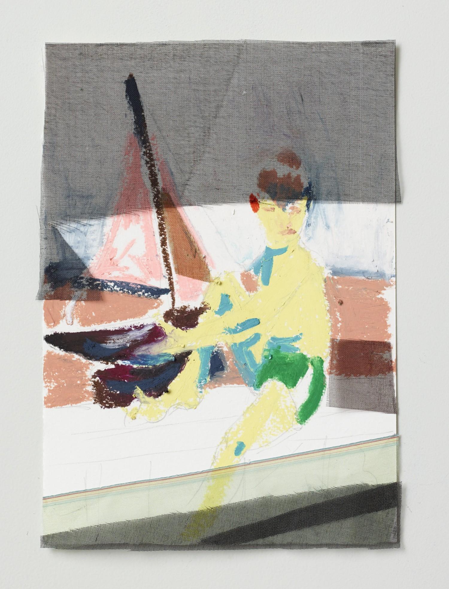 Børnetegning 1/28 (Kidsdrawing), 14 x 17 cm, 2015
