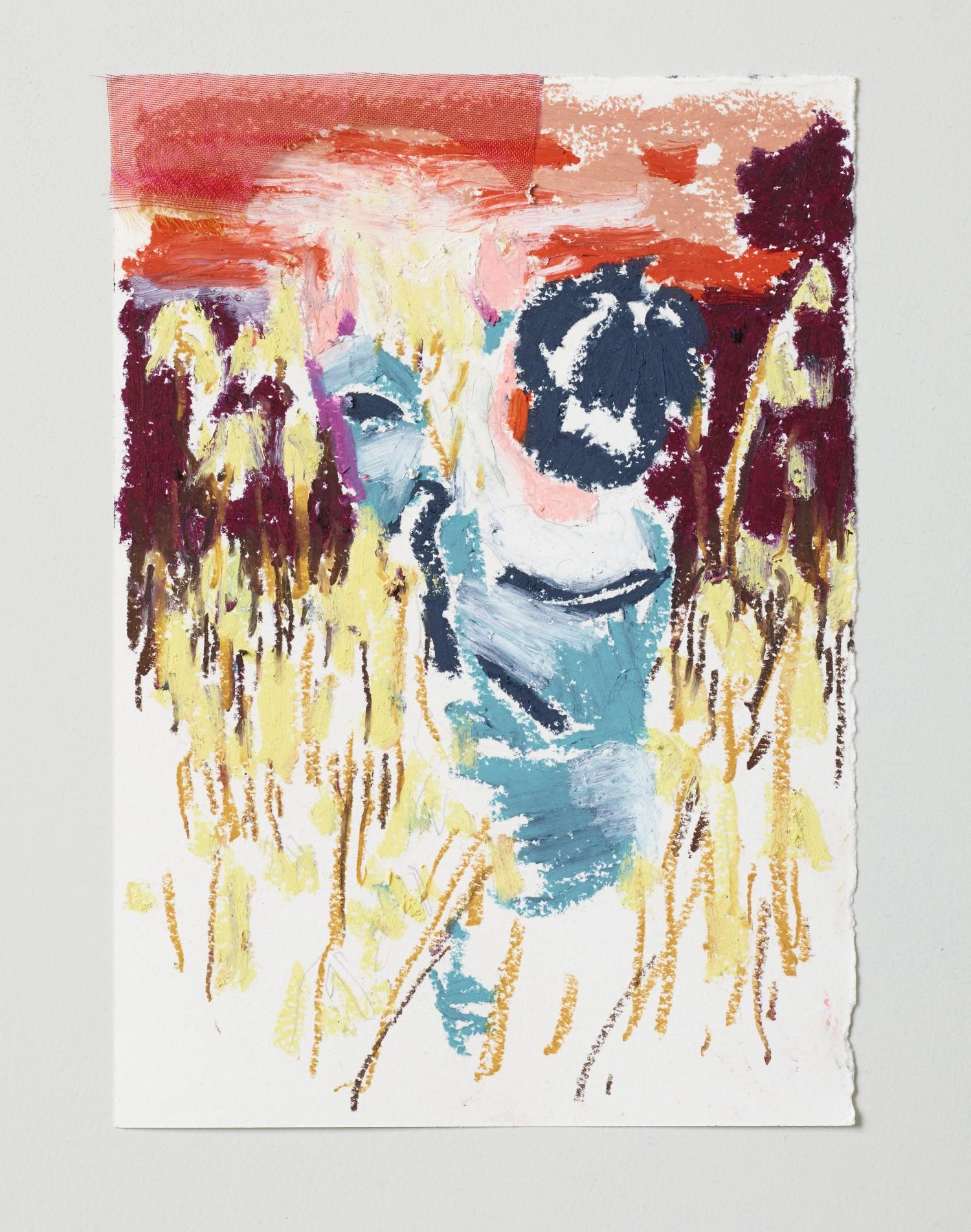 Børnetegning 3/28 (Kidsdrawing), 14 x 17 cm, 2015