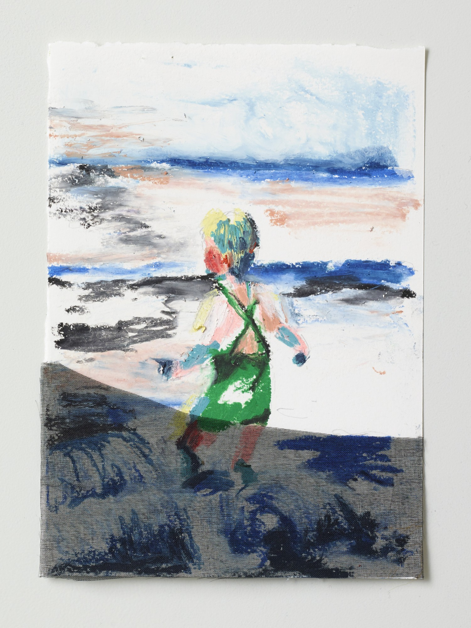 Børnetegning 2/28 (Kidsdrawing), 14 x 17 cm, 2015