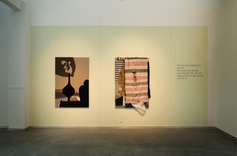 Forfatterinden, Installationview Vejle Kunst Museum