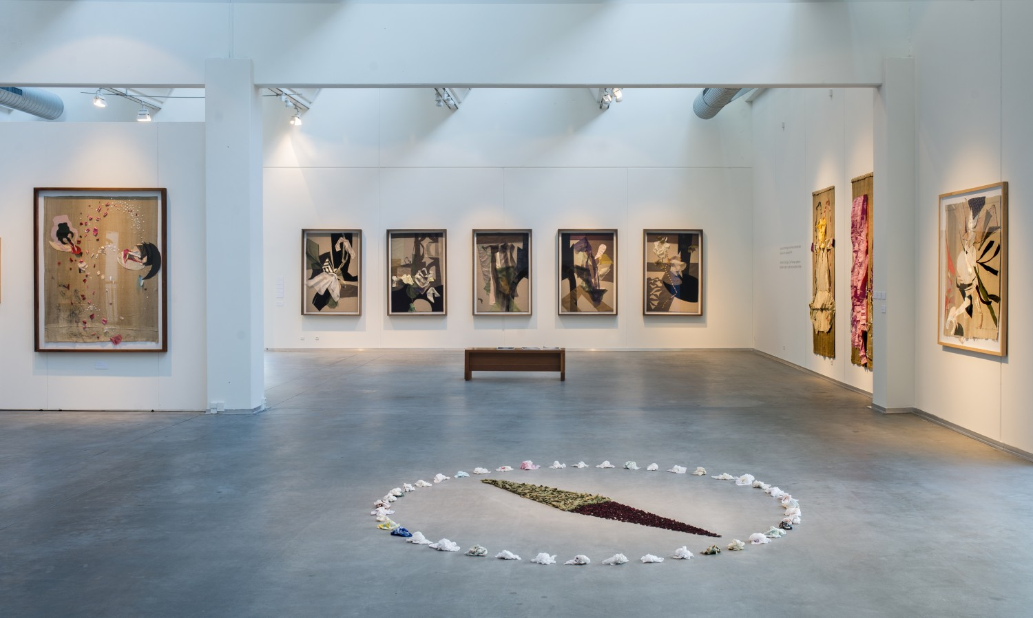 Installation view, , UNRAVEL, Museum of Art, Vejle, 2015