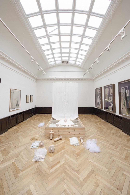 Installationview  Museums Bygningen v/ Banja Ratnov